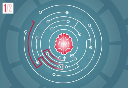 L'IA s'impose progressivement comme une révolution dans l'organisation et la classification des données pour toutes les entreprises. (Illustration: Maison Moderne)