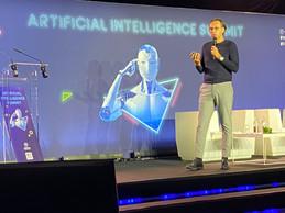 Le country manager de Microsoft, Candi Carrera, a tiré les premiers enseignements sur l'apport de l'intelligence artificielle à la gestion de la crise. ((Photo: Paperjam))