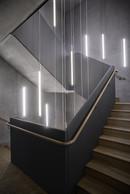 Les finitions de la cage d'escalier ont été soignées pour en faire un espace de rencontre. ((Photo: Belvedere Architecture))