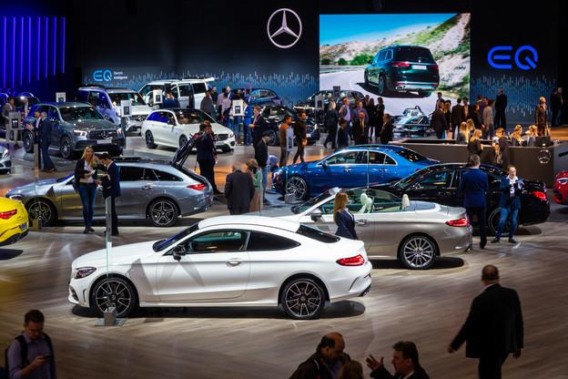 Le Brussels Motor Show devrait attirer entre 500.000 et 600.000visiteurs. La Febiac estime que 30% des visiteurs ont une intention d'achat suite au salon. (Photo: Shutterstock)