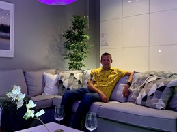 """""""We want to continue to develop the Ikea store in Arlon,"""" says manager Christopher Burman. (Photo: Paperjam)"""