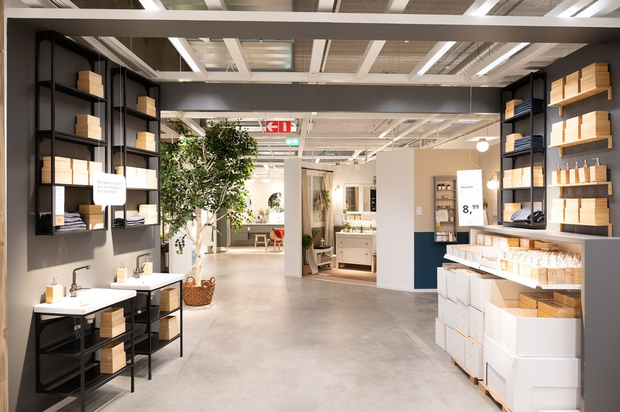The new showroom was designed on the basis of a market study that identified the needs of the population served by the Arlon shop (Photo: Ikea)
