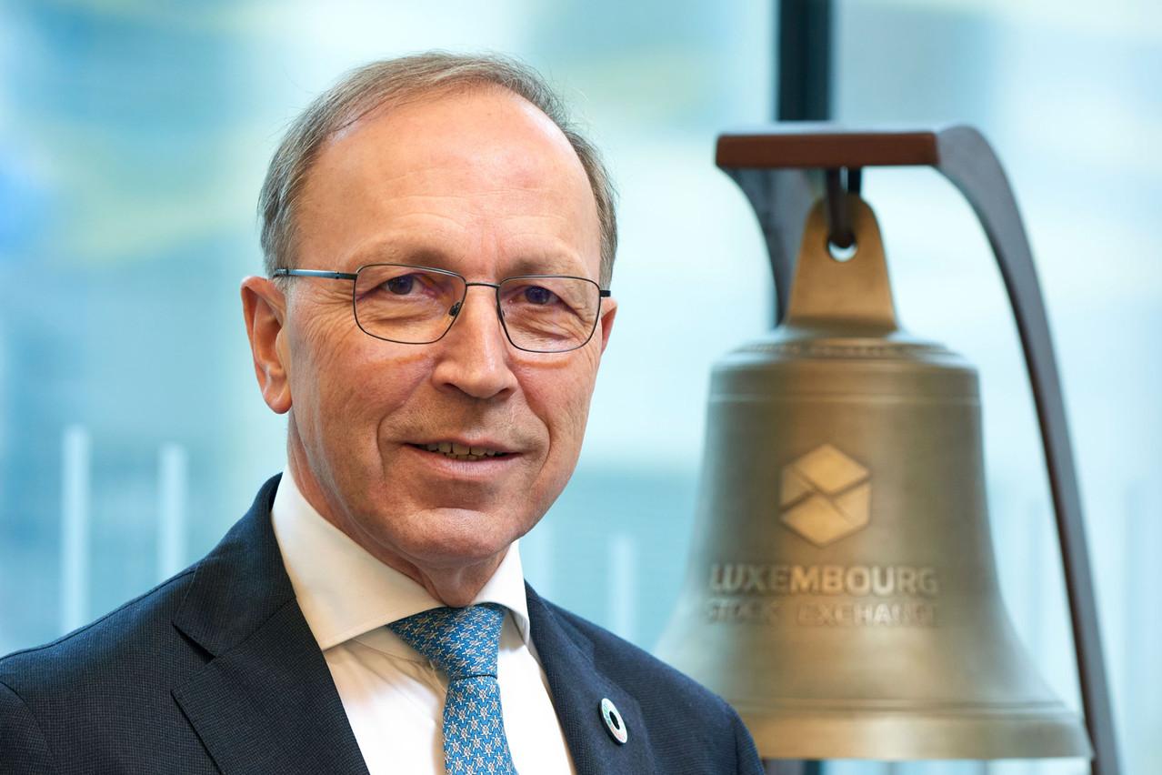 Robert Scharfe s'apprête à quitter la Bourse de Luxembourg après neuf années passées à la tête de cette institution. (Photo: Andrés Lejona/Maison Moderne)