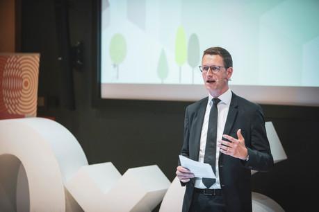 Un des enjeux majeurs pour la place financière sera «de prendre le changement ESG comme une opportunité de croissance et non uniquement comme un exercice de 'compliance'», analyse Olivier Carré.  (Photo: PatriciaPitsch/Archives Maison Moderne)