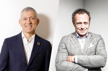 Christian Scharff et Laurent Probst, partners chez PwC, sont les auteurs d'un livre sur l'upskilling. (Photos: Maison Moderne)