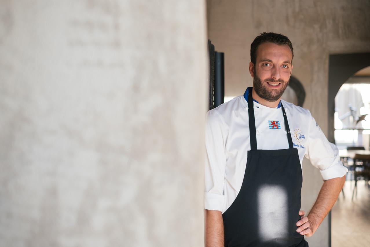 Le chef Quentin Debailleux est aux fourneaux de son restaurant Pèitry depuis 10 ans et y propose de nouvelles formules à emporter pour limiter la casse en cette fin d'année 2020 difficile pour toute la restauration. (Photo: Sebastien Goossens|SG9)