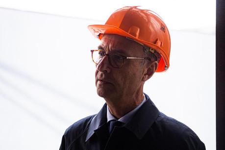 Michel Wurth tient beaucoup à la reconversion des friches de Belval, mariant l'histoire et l'avenir du pays, et transformant un site industriel délaissé en monument. (Photo: Edouard Olszewski)