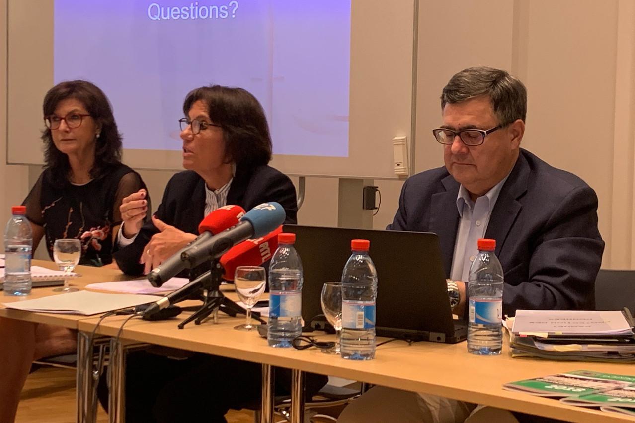 Martine Solovieff et Jeannot Nies précisent que les banques de données judiciaires ont une base légale avérée depuis 1979, hormis trois années au début des années1990. (Photo: Paperjam)