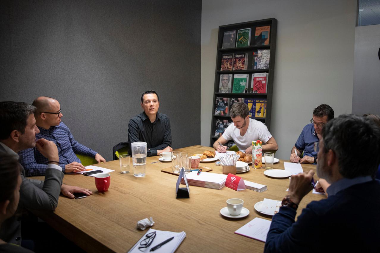 Observateur avisé du marché du logement au Luxembourg, Julien Licheron était l'invité de la rédaction de Paperjam. (Photo: Patricia Pitsch / Maison Moderne)