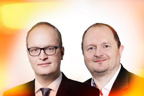 Arnaud Habran,chef du service Guidance au sein de la CNPD, et Alain Herrmann,chef du service Conformité au sein de la CNPD. (Photo: Maison Moderne)