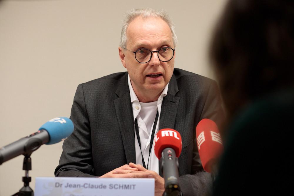 Jean-Claude Schmit a rappelé lundi lors d'un point presse que si le taux de mortalité du coronavirus est de 2%, il est très faible chez les jeunes, et quasi inexistant chez les enfants. (Photo: Matic Zorman/Maison Moderne)