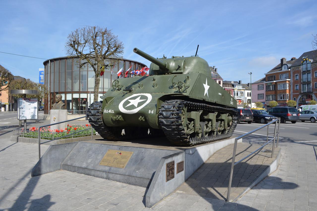 Bastogne est devenue la ville symbole de la résistance américaine à l'assaut des forces allemandes. (Photo: Shutterstock)