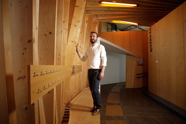 Pour le manager du Luxembourg Wood Cluster, le bois représente de nombreux avanteges qu'il faut mettre en valeur. (Photo: Matic Zorman/Maison Moderne)