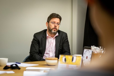 En contact quasi quotidien avec les ministres, NicolasHenckes plaide pour des aides pour assurer la continuité de l'activité économique. (Photo: Maison Moderne/Archives)