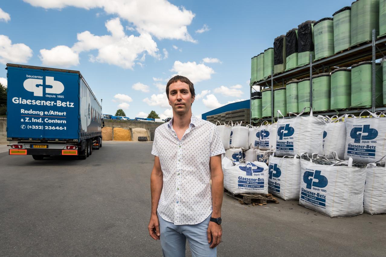 ChristopheGlaesener, 34 ans, est appelé à incarner la cinquième génération de la société Glaesener-Betz. (Photo: Nader Ghavami / Maison Moderne)