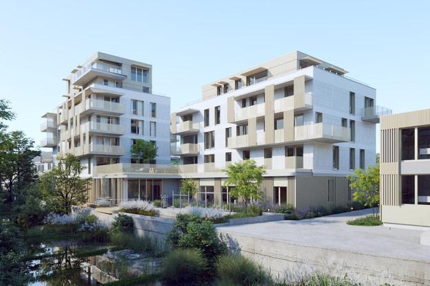 River Place est le nouveau projet d'Immobel, à Luxembourg-Dommeldange. (Visuel: Immobel-Art & Build)
