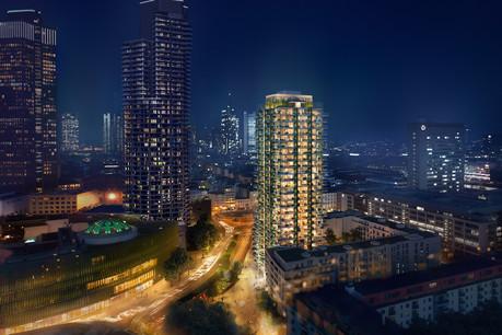Immobel vise désormais l'Allemagne et commence par le développement d'une tour résidentielle à Francfort. (Photo: Immobel)