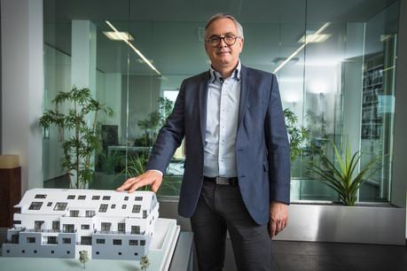 Jean-Paul Scheuren, président de la Chambre immobilière du Grand-Duché de Luxembourg. (Photo: Nader Ghavami/Maison Moderne)