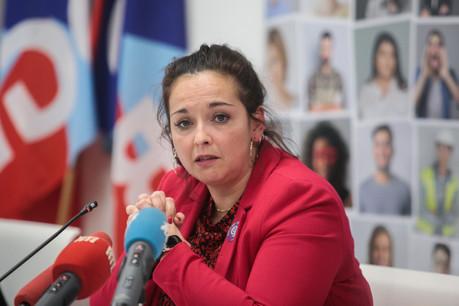 La présidente de l'OGBL, Nora Back, est revenue sur les défis qui attendent les forces syndicales. (Photo: Matic Zorman/Maison Moderne)