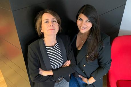Marjorie Hinze (à gauche) et Yalda Rahmanian (à droite): «Partager ses idées et discuter de manière simple et conviviale est un bon moyen de pouvoir créer de nouvelles opportunités, ou juste de nouveaux contacts.» (Photo: DR)