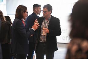 Dominique Gouviaux (Maison Moderne) et Mathieu Lafond (AXA Assurances Luxembourg) (Photo: Simon Verjus/Maison Moderne)