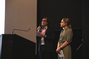 Dominique Gouviaux et Virginie Laurent (Maison Moderne) (Photo: Simon Verjus/Maison Moderne)