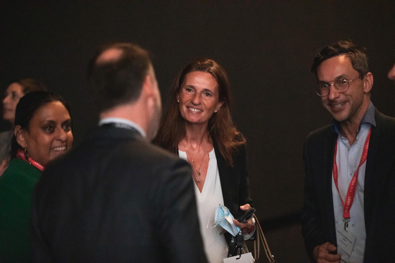 Ana Wiscour-Conter (Maison Moderne), Pascale Kauffman (Apollo Strategists) and Pierre-Yves Lanneau Saint Léger (Maison Moderne) (Photo: Simon Verjus/Maison Moderne)