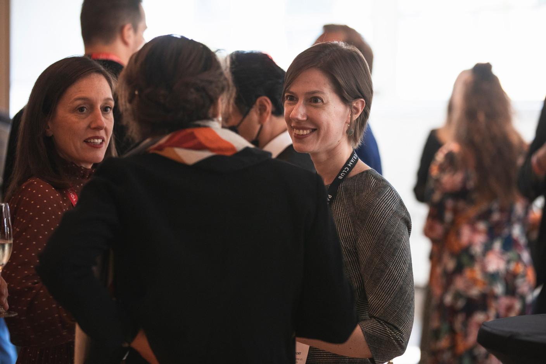 Emmanuelle Thivollard (Maison Moderne) et Bérengère Beffort (Ministère de l'Égalité entre les femmes et les hommes) (Photo: Simon Verjus/Maison Moderne)
