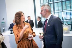 Sophie Mitchell (Deloitte), Kris Verhellen (Extensa Group) ((Photo: Blitz Agency 2019))