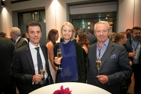 Stéphane Hurtaud (Deloitte), Christiane Chadoeuf (Deloitte) et Eric van de Kerkhove (VDK Consult) ((Photo: Blitz Agency 2019))