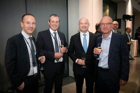 Jacquou Martin (Deloitte), Raphaël Glohr (Deloitte) et Yves Francis ((Photo: Blitz Agency 2019))