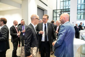 Thierry Raizer (Maison Moderne), John Psaila (Deloitte), Arnaud Willems (Deloitte) ((Photo: Blitz Agency 2019))