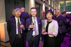 Shigeji Suzuki (Ambassadeur du Japon à Luxembourg), Laurent Berliner (Deloitte) et Eriko Suzuki ((Photo: Blitz Agency 2019))