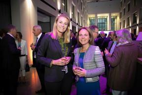 Petra Hazenberg (Deloitte) et Corinne Cahen (Ministre de la Famille et de l'Intégration) ((Photo: Blitz Agency 2019))