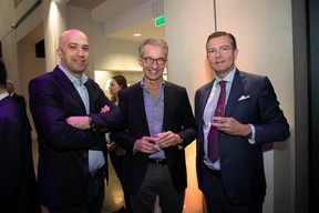Abdallah Abu Jahrur (Promobe), Ferd Feidt (Bétons Feidt) et Georges Kioes (Deloitte) ((Photo: Blitz Agency 2019))