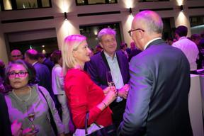 Ruth Bültmann (bültmann advisory), Stéphane Cesari et Georges Deitz (Cadogan GDC) ((Photo: Blitz Agency 2019))