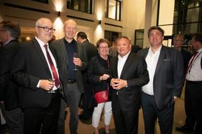 Franz Prost, Pia Haag, Maurice Lam (Lam & Partners) et Basil Sommerfeld (Deloitte) ((Photo: Blitz Agency 2019))