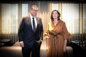 John Psaila (Deloitte), Sophie Mitchell (Deloitte) ((Photo: Blitz Agency 2019))