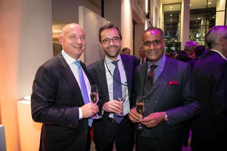 Raphaël Glohr (Deloitte), Pierre-Jean Estagerie (Deloitte) et Gilbert Renel (Results Oriented Coaching & Consulting) (Photo: Blitz Agency 2019)