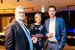 Ivan van Overtfeldt (Ulmys), Gill Bruggeman (Gill Bruggeman Ontwerpstudio) et Kurt Bruggeman (Black Box) ((Photo: Lala La Photo))