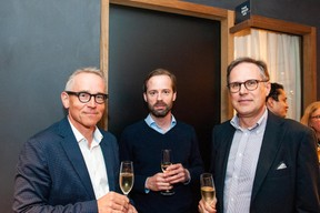 Jörgen Persson (Dunross & Co), Andreas Nabseth (Dunross & Co), Per Linder (Dunross & Co) ((Photo: Lala La Photo))