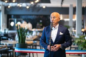 René Grosbusch, investisseur et propriétaire du bâtiment. ((Photo: Matic Zorman / Maison Moderne))