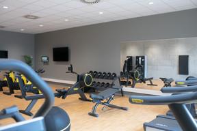 La salle de fitness est ouverte 24h/24. ((Photo: Matic Zorman / Maison Moderne))