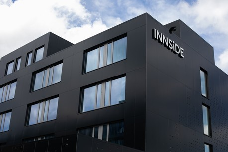 L'hôtel Innside a désormais ouvert ses portes au public. (Photo: Matic Zorman / Maison Moderne)