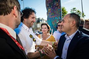 Paul Galles (Député), Claudine Konsbruck (Ministère d'État), Sven Clement (Député) et Patrick Goldschmidt (Ville de Luxembourg) ((Photo: Nader Ghavami))