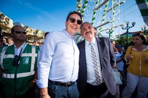 Sven Clement (Député) et Charles Hary (président du CIFS) ((Photo: Nader Ghavami))