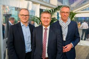 Georges Muller (Cegecom), Paulo Apolinario (ARHS group) et Marc Lemmer (CNPD) ((Photo: ARHS Group))