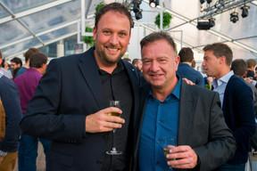 Jonathan Feller (BMW) et Jourdan Serderidis (ARHS Group) ((Photo: ARHS Group))