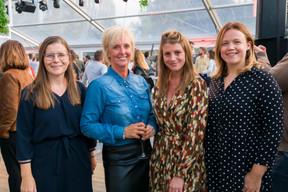 Jennifer Raumanis (ARHS Group), Ann De Ridder (ARHS Group), Chrystal Michielsen (ARHS Group) et Leen Van Bever (ARHS Group) ((Photo: ARHS Group))