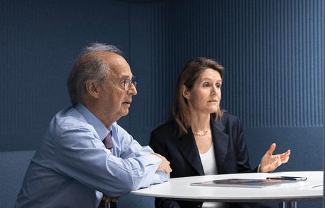 Anton Brender et Florence Pisani se montrent sereins à l'aube de l'année 2020. (Photo: Jan Hanrion/Maison Moderne/archives)